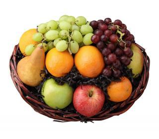 Kowalski's Cheers Fruit Gift Basket
