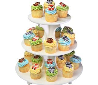 Woodland Animals Cupcake Tree