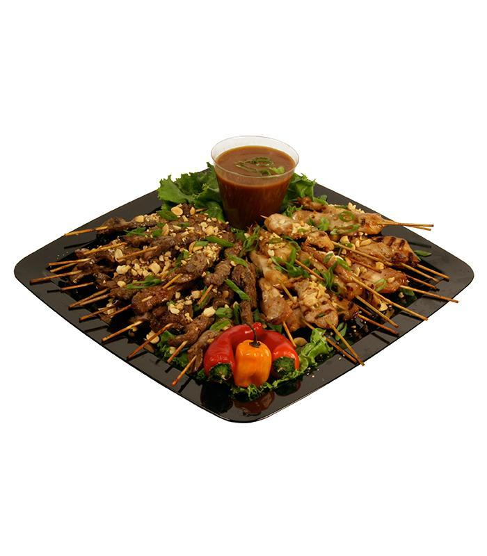 Chicken and Beef Satay Tray
